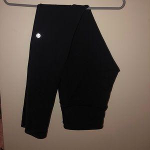 Black/Blue reversible Lululemon leggings